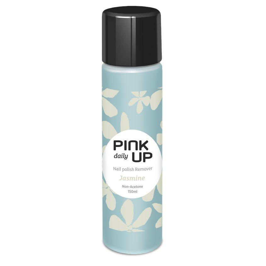PINK UP Жидкость для снятия лака DAILY без ацетона Жасмин