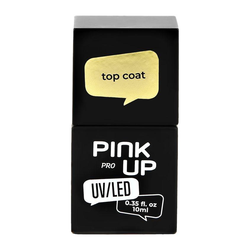 PINK UP Верхнее покрытие для ногтей PRO top coat