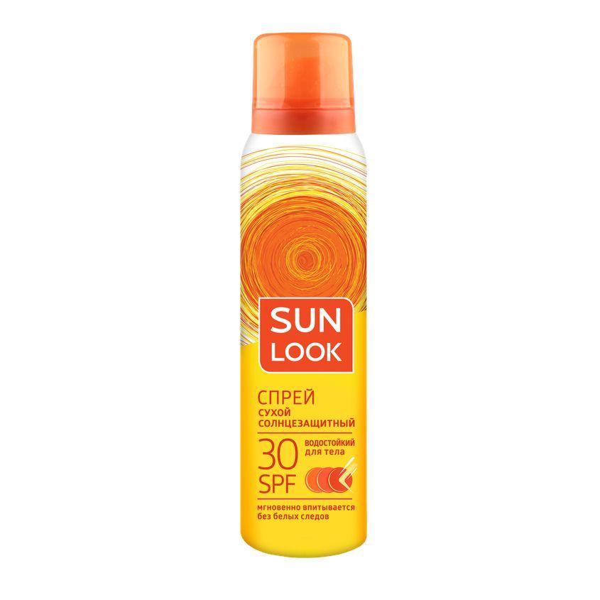 SUN LOOK Спрей для тела SUN LOOK солнцезащитный сухой spf-30