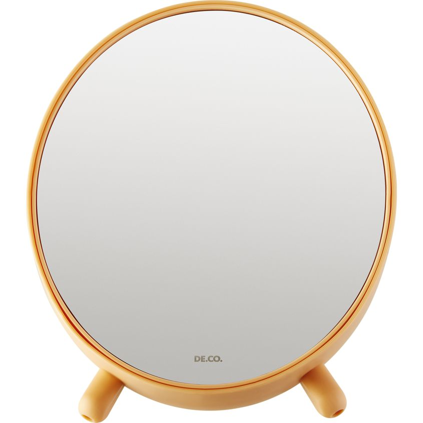 DECO. Зеркало для макияжа DECO. настольное (с подставкой для косметики)