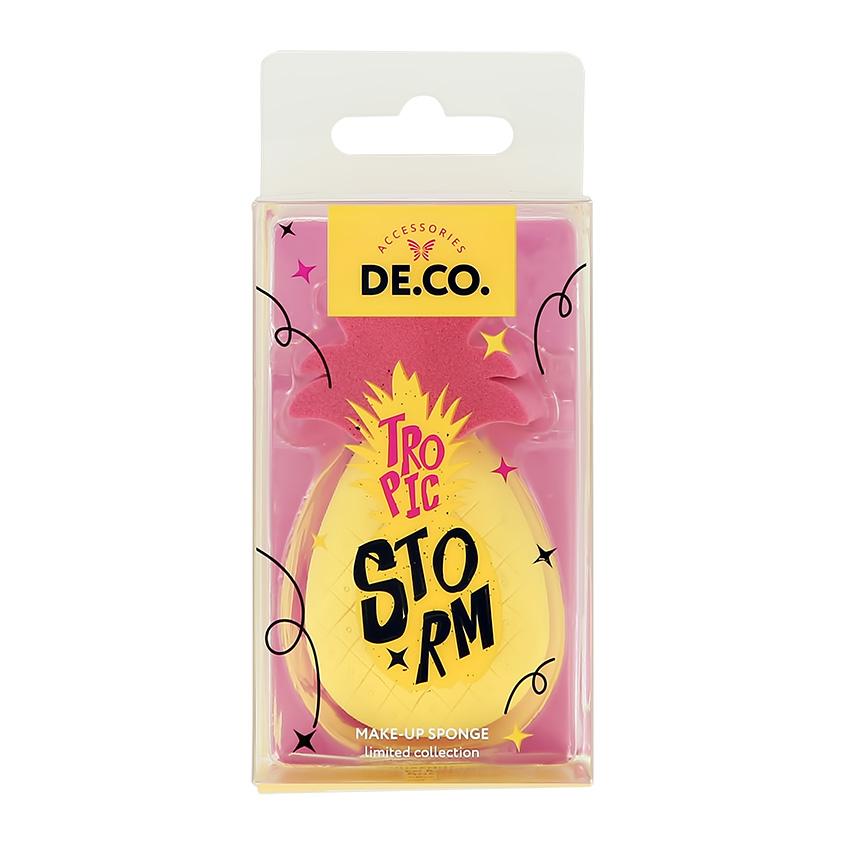 DECO. Спонж для макияжа TROPIC STORM без латекса
