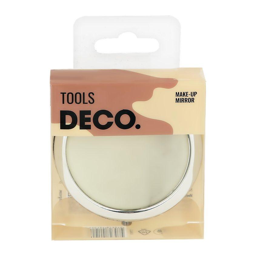 DECO. Зеркало для макияжа DECO. карманное (marble)