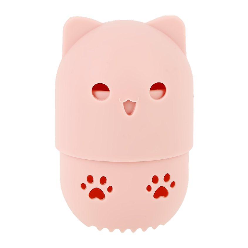 DECO. Чехол для хранения спонжа DECO. силиконовый kitty