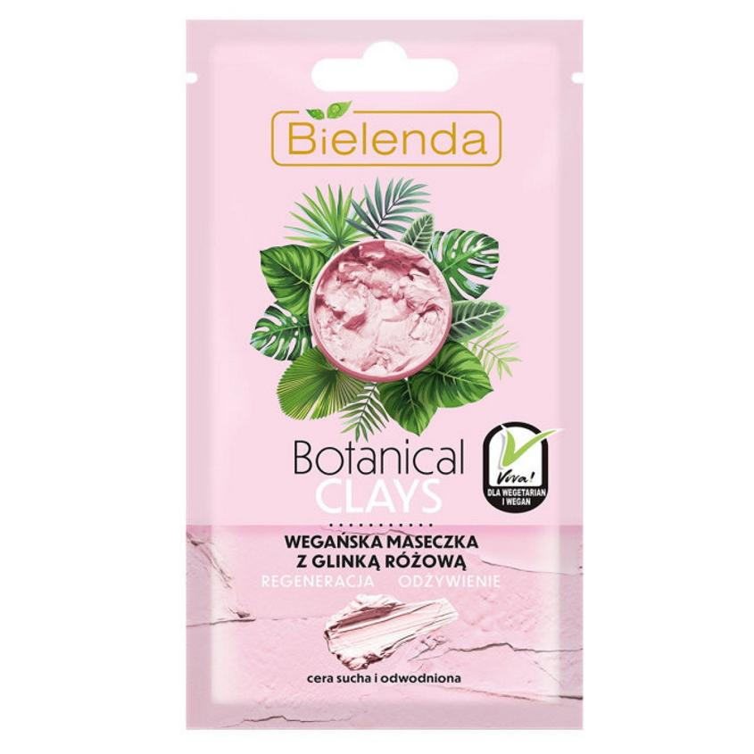 Купить BIELENDA маска для лица с розовой глиной BOTANICAL CLAYS
