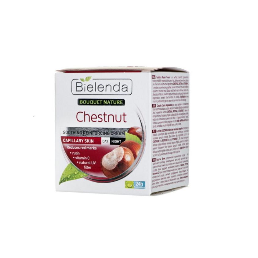 Купить BIELENDA крем для лица успокаивающий BOUQUET NATURE - FACE CREAMS