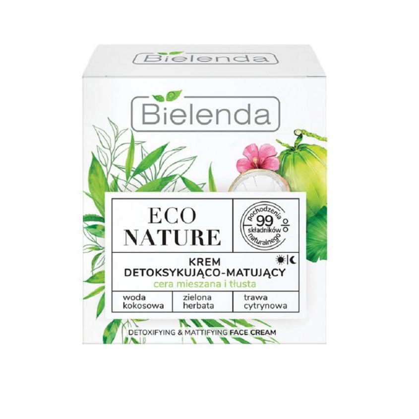Купить BIELENDA крем для лица для детоксикации ECO NATURE