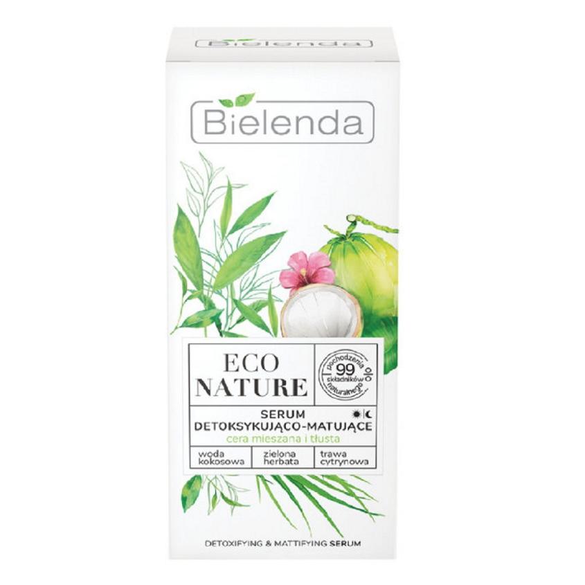Купить BIELENDA сыворотка для лица для детоксикации ECO NATURE