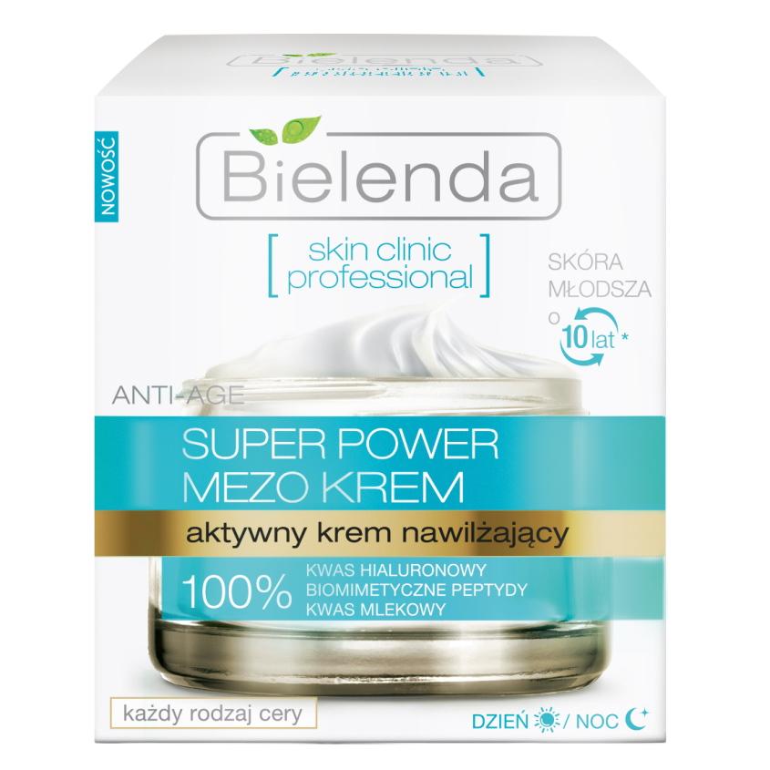 Купить BIELENDA крем для лица с гиалуроновой кислотой SKIN CLINIC PROFESSIONAL