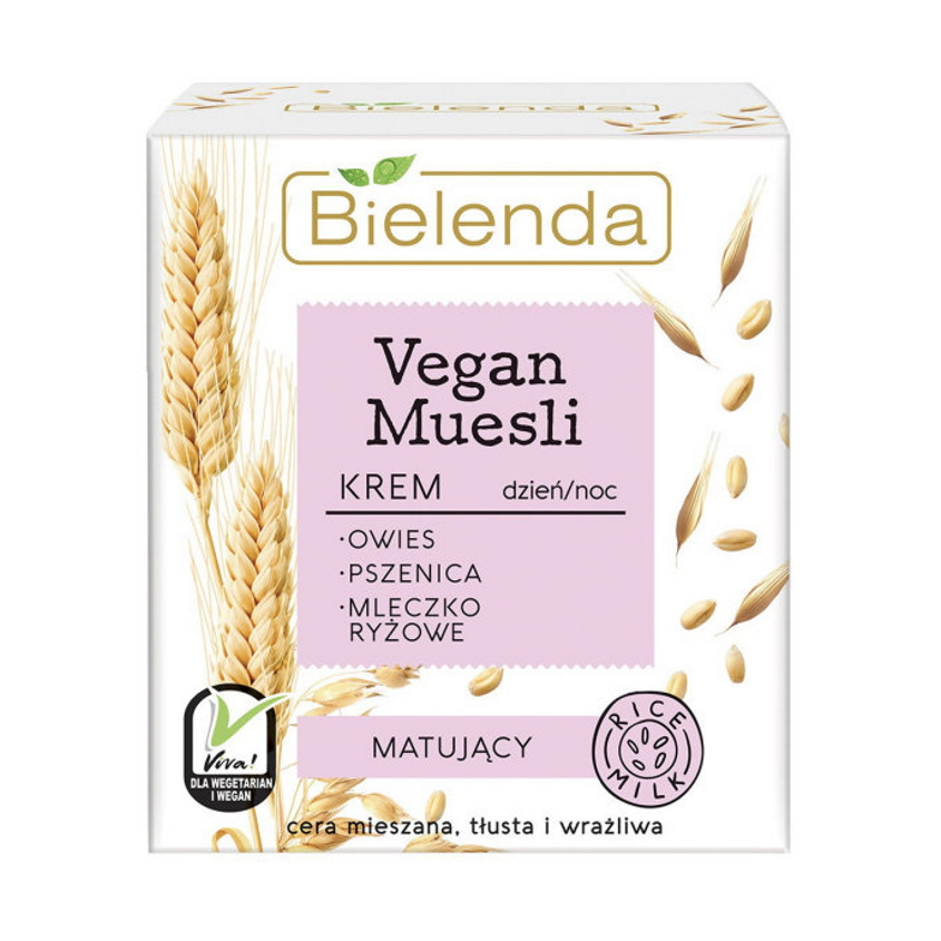 Купить BIELENDA крем для лица матирующий VEGAN MUESLI