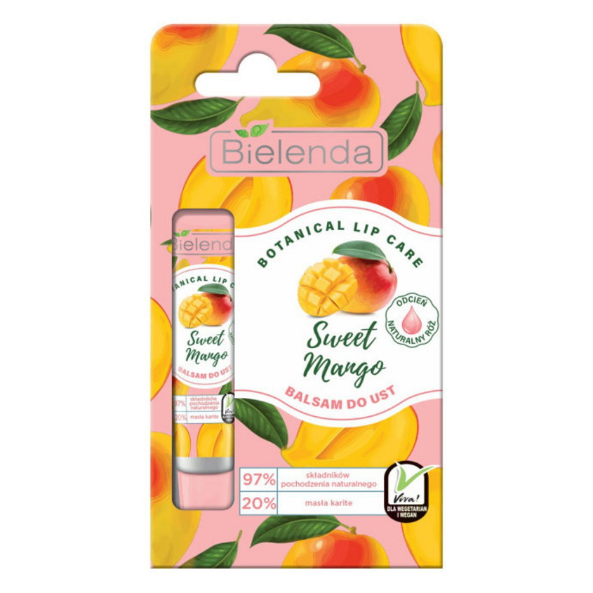 BIELENDA бальзам для губ Сладкий манго BOTANICAL LIP CARE