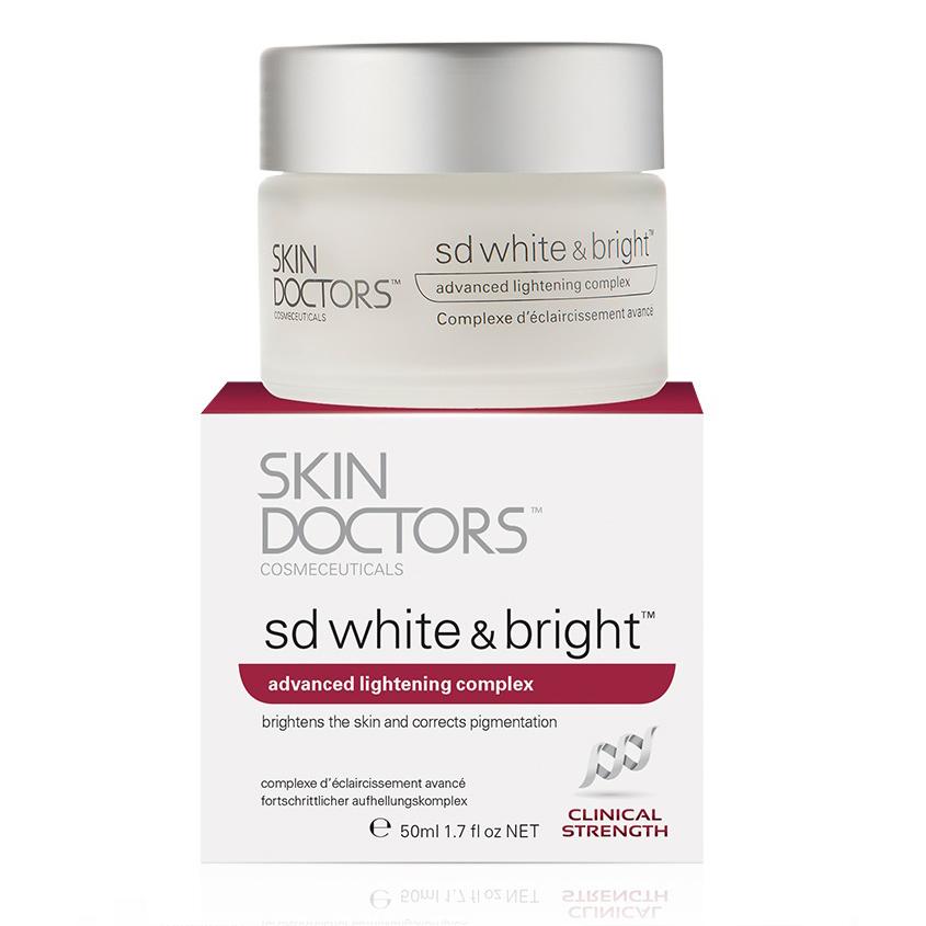 SKIN DOCTORS отбеливающий крем для лица и тела SD White & Bright