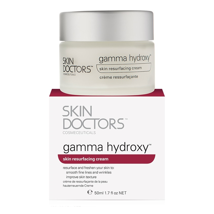 SKIN DOCTORS обновляющий крем против рубцов, морщин, пигментации Gamma Hydroxy