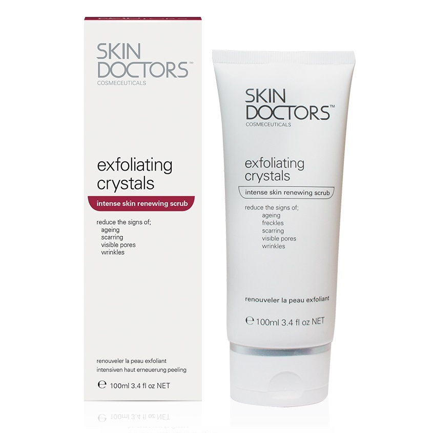 SKIN DOCTORS скраб интенсивный для обновления кожи Exfoliating Crystals