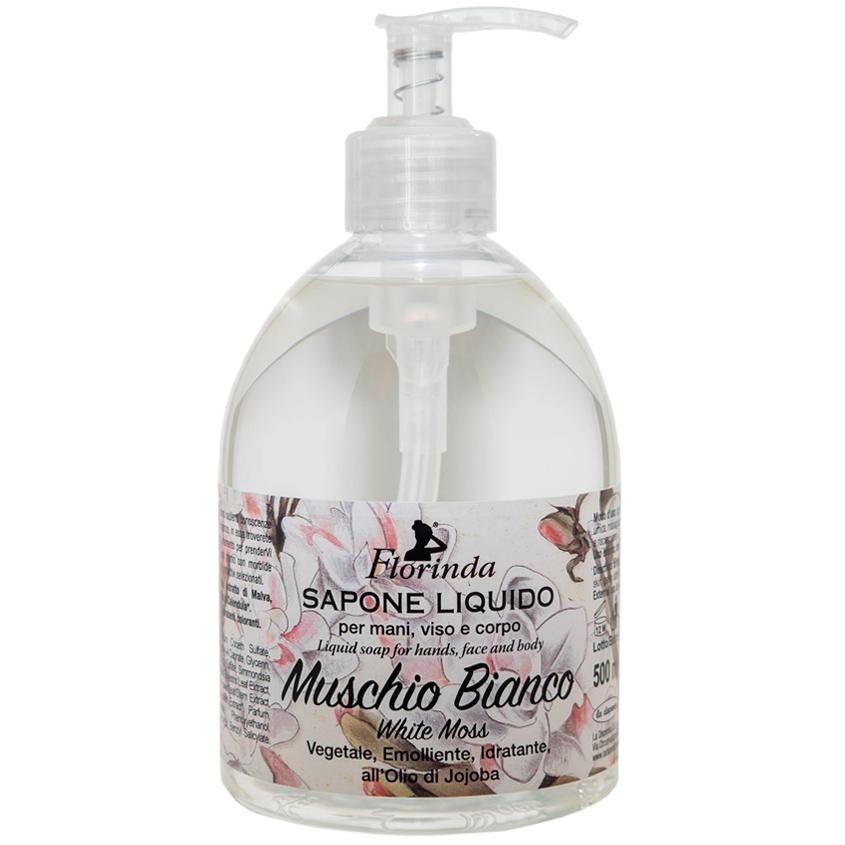 """FLORINDA жидкое мыло """"Магия Цветов"""" Muschio Bianco / Белый Мускус"""
