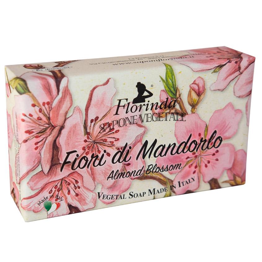 "FLORINDA мыло ""Ария Цветов"" Fiori Di Mandorlo / Цветок Миндаля"