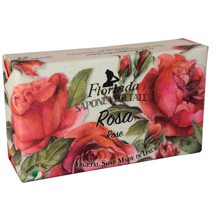 """FLORINDA мыло """"Магия Цветов"""" Rosa / Роза"""