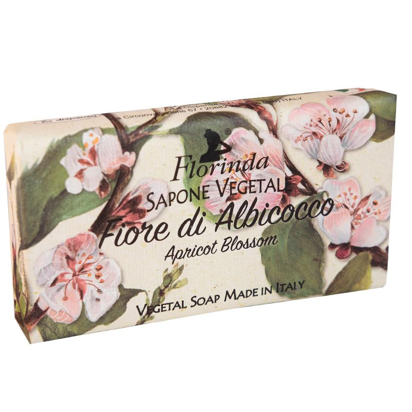 """FLORINDA мыло """"Цветы и Цветы"""" Fiore Di Albicocco / Абрикосовый Цвет"""