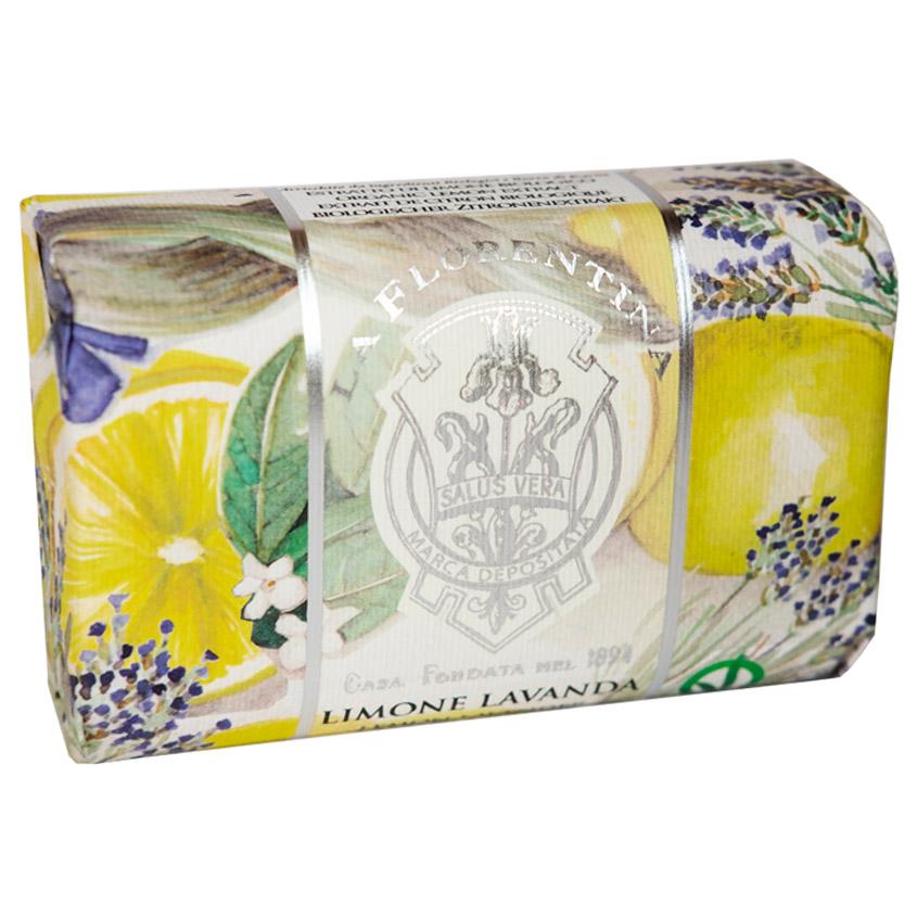 LA FLORENTINA Мыло Lemon & Lavender. Лимон и Лаванда