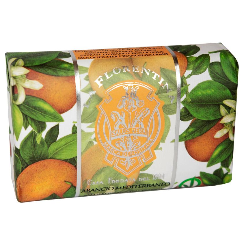 LA FLORENTINA Мыло Mediterranean Orange. Средиземноморский апельсин