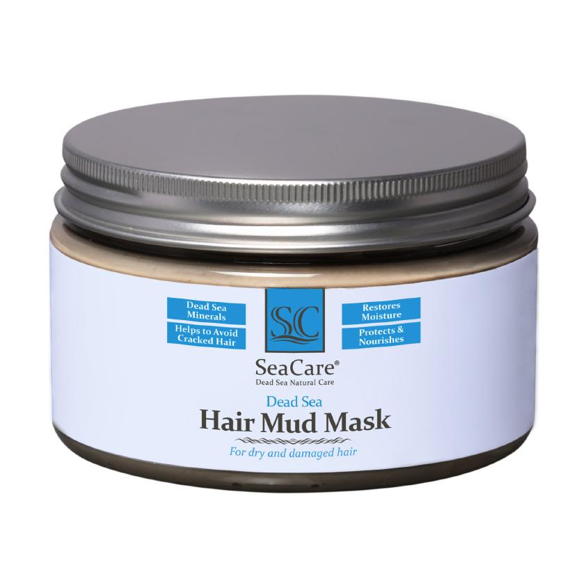 SEACARE Грязевая маска для волос с минералами Мертвого Моря и растительными экстрактами