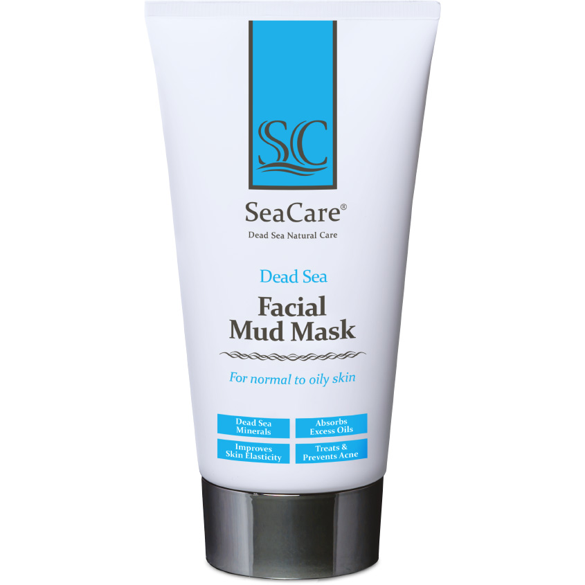 SEACARE Омолаживающая грязевая маска для лица с минералами Мертвого Моря и растительными экстрактами