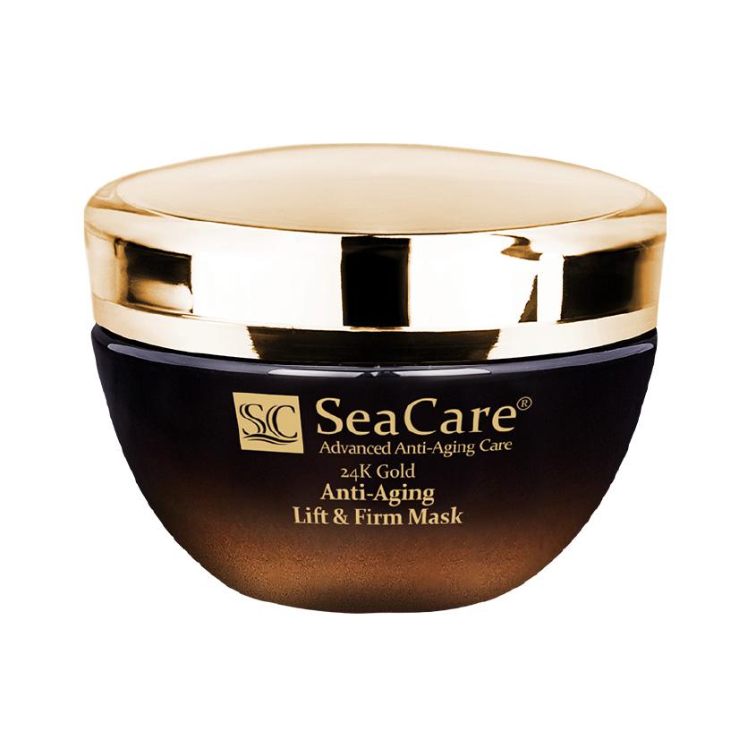 SEACARE Антивозрастная подтягивающая и повышающая упругость маска с Реноваж, Золотом и Витамином Е