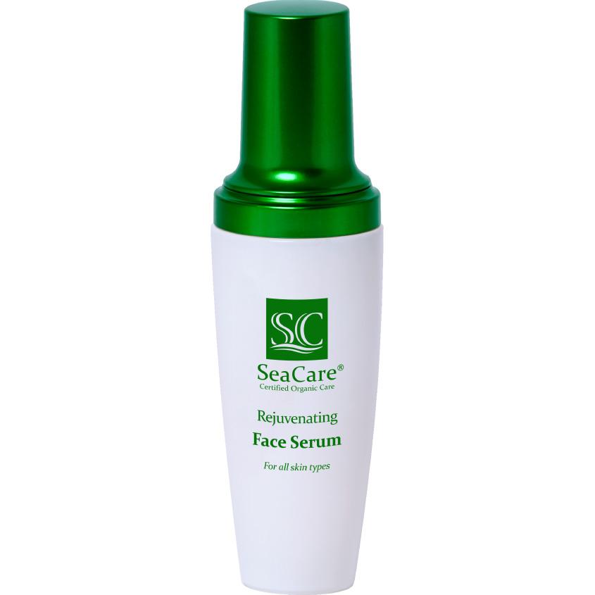 SEACARE Органическая омолаживающая сыворотка для лица с Гиалуроновой кислотой, Витамином Е и Маслами