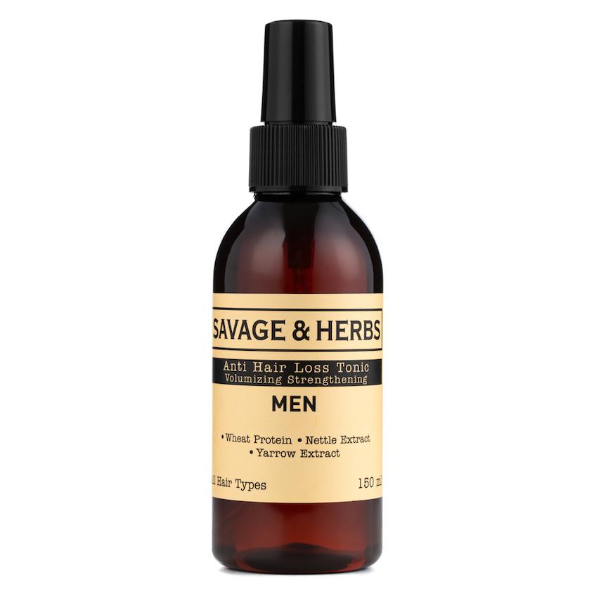 Купить SAVAGE&HERBS Мужской органический тоник-спрей против выпадения волос