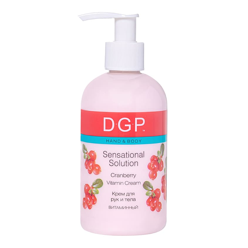 DOMIX DGP Sensational Solution Восстанавливающий крем для рук и тела