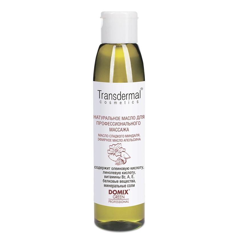 DOMIX Transdermal Cosmetics Для профессионального массажа натуральное масло КУНЖУТНОЕ, эфирное масло МЯТЫ