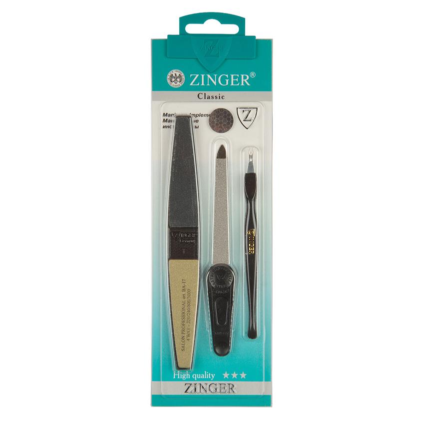 Купить ZINGER Набор для маникюра и педикюра Classic SIS-09