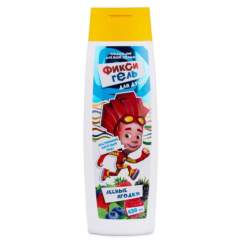 """VILSEN Детский гель для душа  лесные ягодки с экстрактом ежевики и малины, 0+ """"Фиксики"""""""
