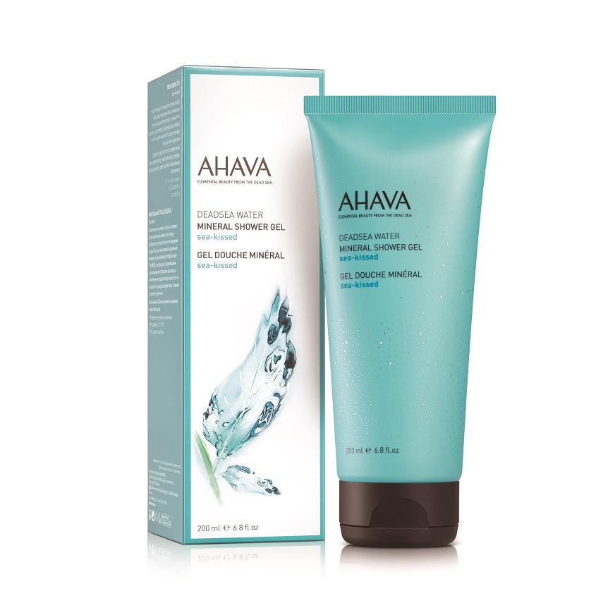 AHAVA Deadsea Water Минеральный гель для душа sea kissed