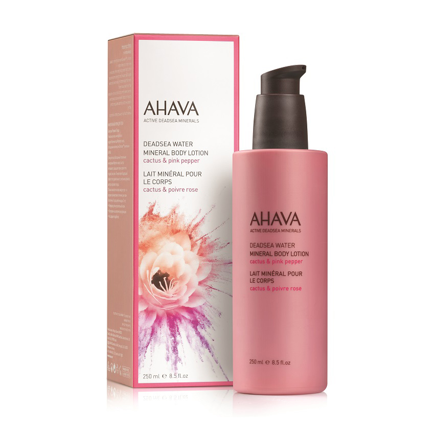 AHAVA Deadsea Water Минеральный крем для тела кактус и розовый перец