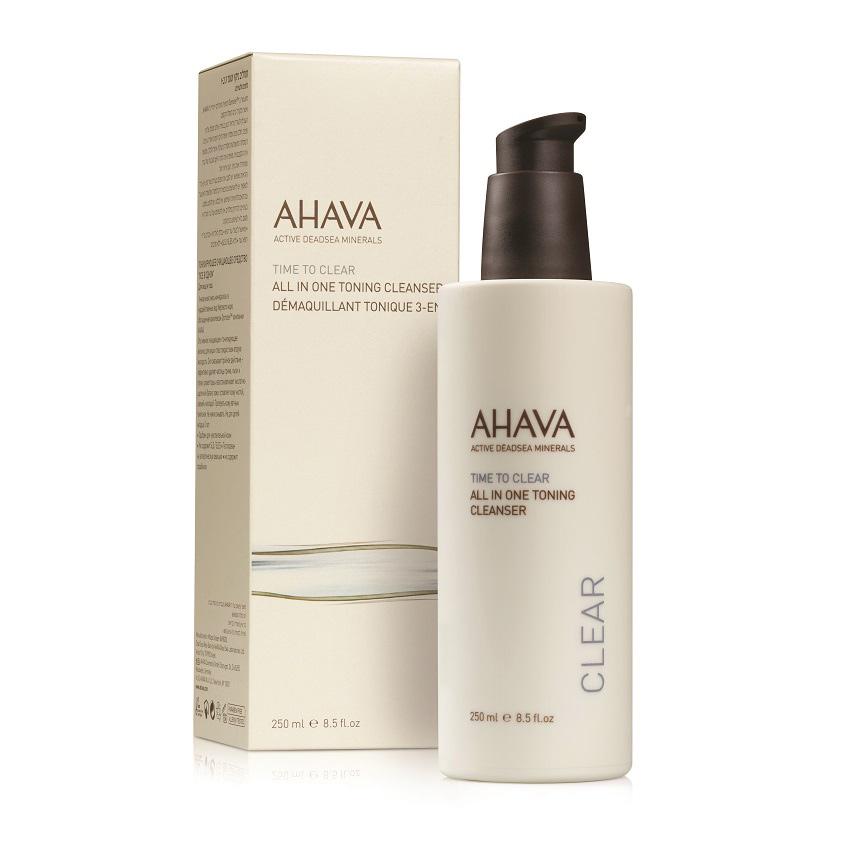AHAVA Time To Clear Тонизирующее очищающее средство «все в одном»