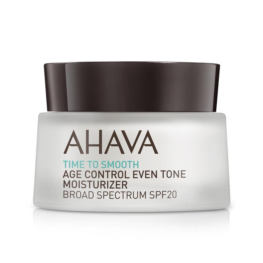 AHAVA Time To Smooth Увлажняющий крем – ровный тон и профилактика старения spf20