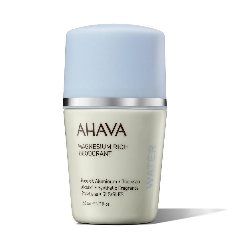 AHAVA Deadsea Water Дезодорант богатый магнием шариковый для женщин
