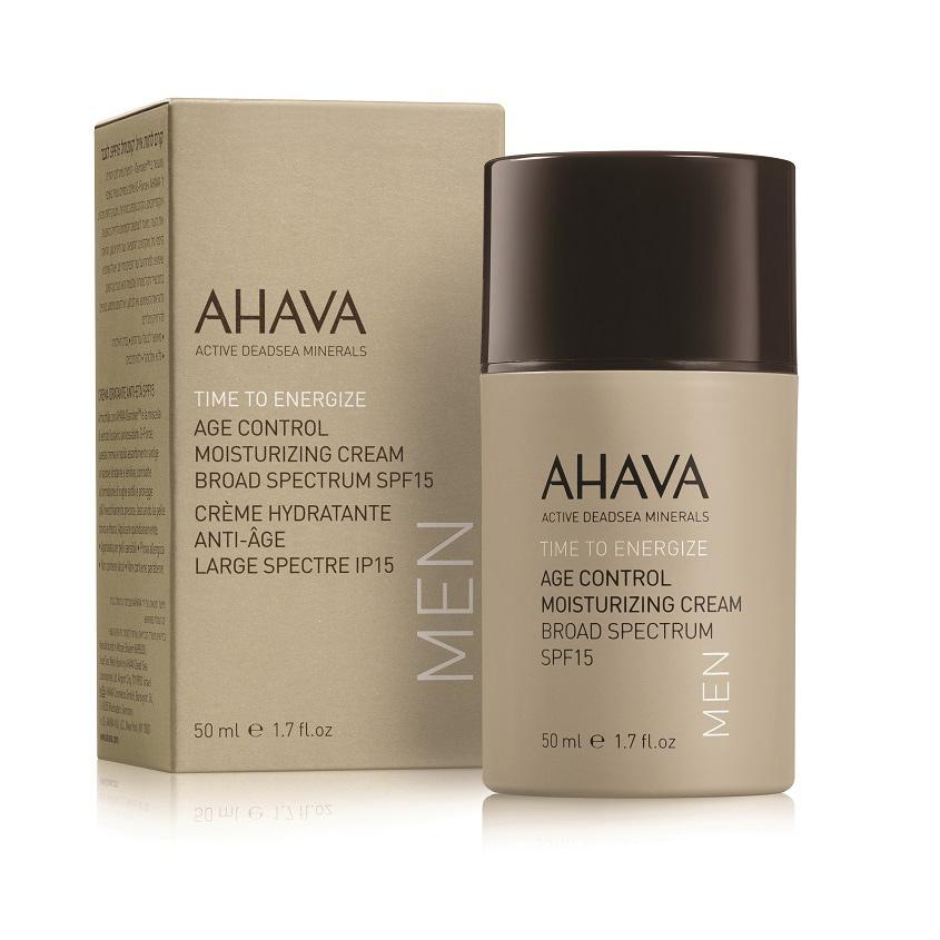 AHAVA Time To Energize Успокаивающий увлажняющий крем после бритья