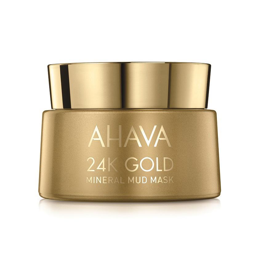 AHAVA Mineral Mud Masks Маска с золотом 24к
