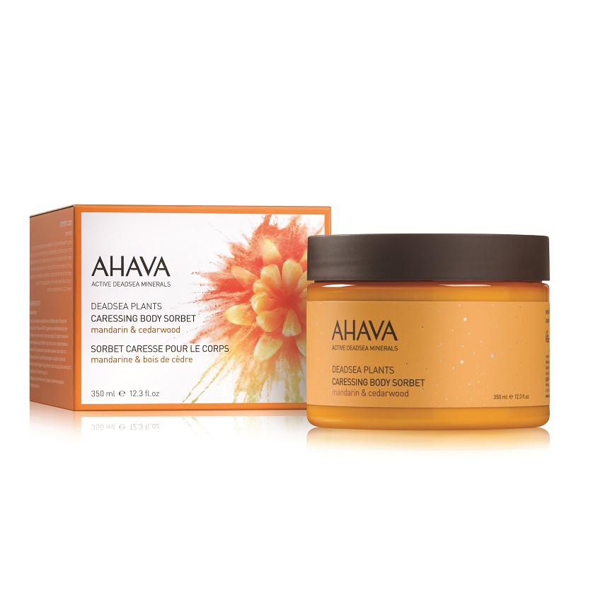 AHAVA Deadsea Plants Нежный крем для тела мандарин и кедра
