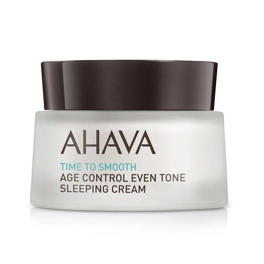 AHAVA Time To Smooth Антивозрастной ночной крем для выравнивания цвета кожи