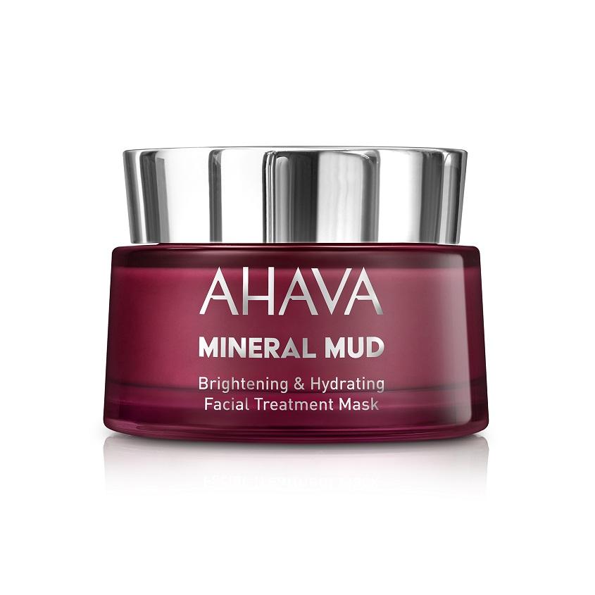 AHAVA Mineral Mud Masks Маска для лица увлажняющая придающая сияние