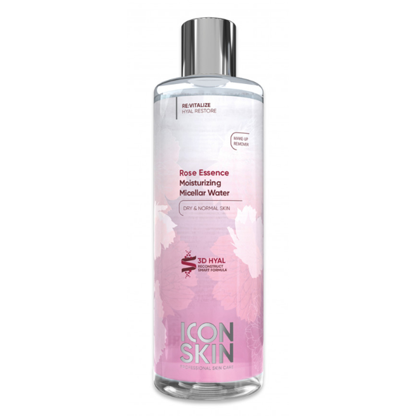 ICON SKIN Увлажняющая мицеллярная вода Rose Essence