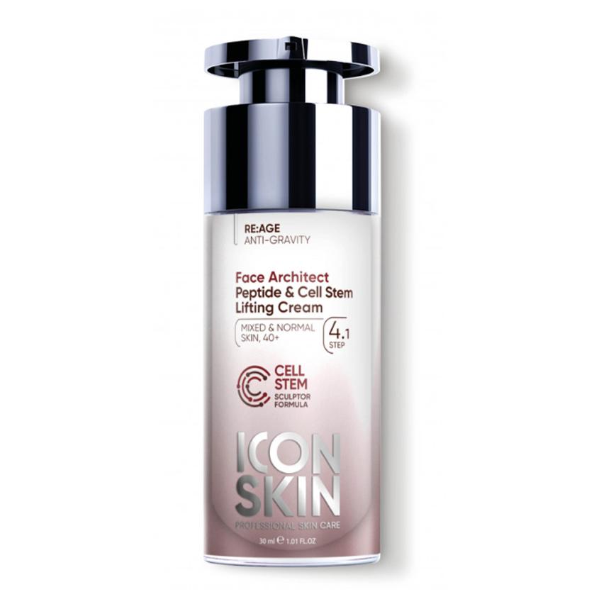 ICON SKIN Омолаживающий лифтинг-крем с пептидами и стволовыми клетками Face Architect