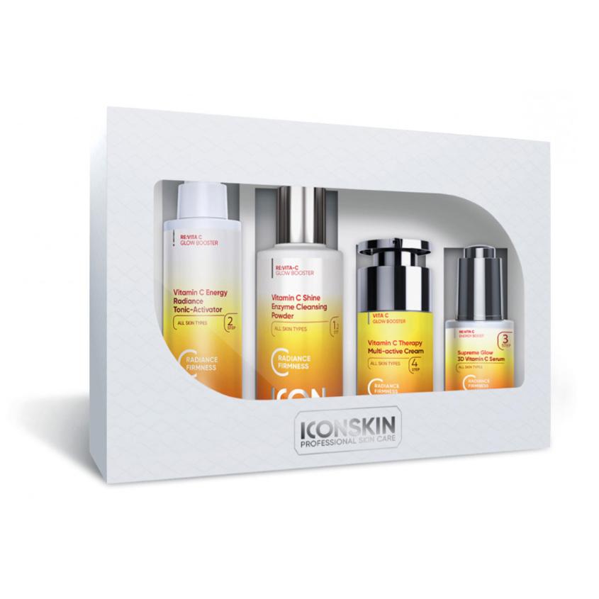 ICON SKIN Набор средств c витамином С для ухода за всеми типами кожи Re:Vita C № 1, 4 средства