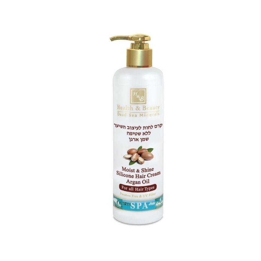 HEALTH&BEAUTY Увлажняющий крем для волос с маслом Аргании