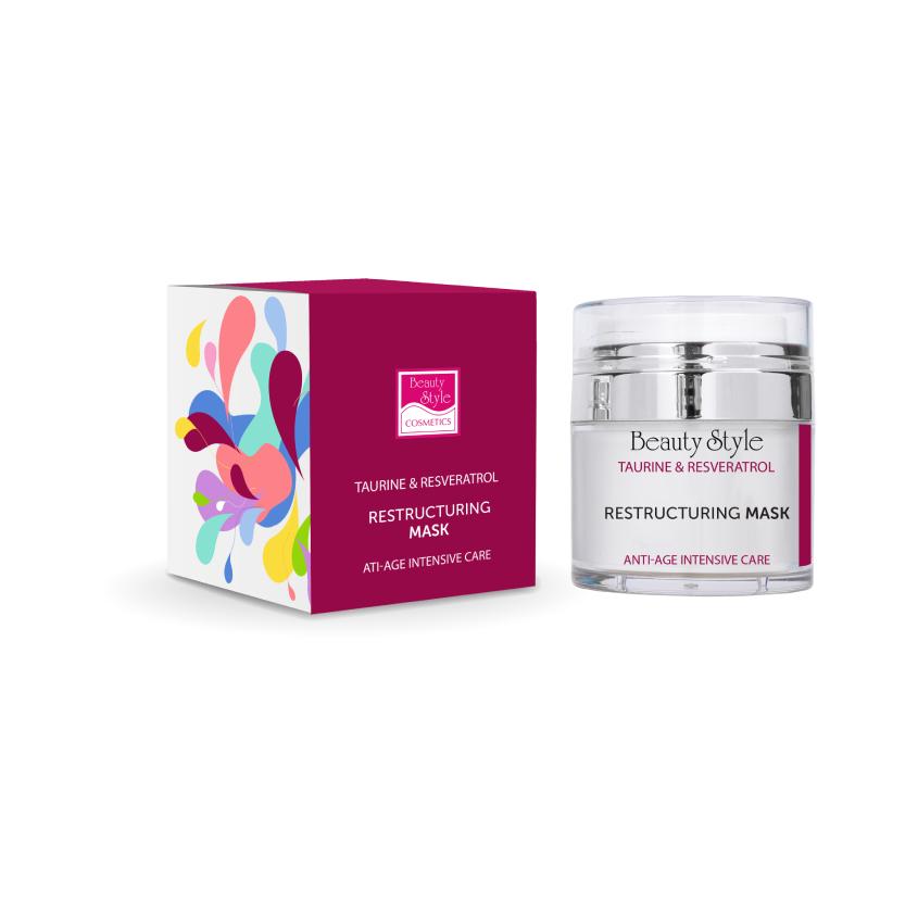 "BEAUTY STYLE Реструктурирующая маска Anti Age plus ""Taurine & Resveratrol"""