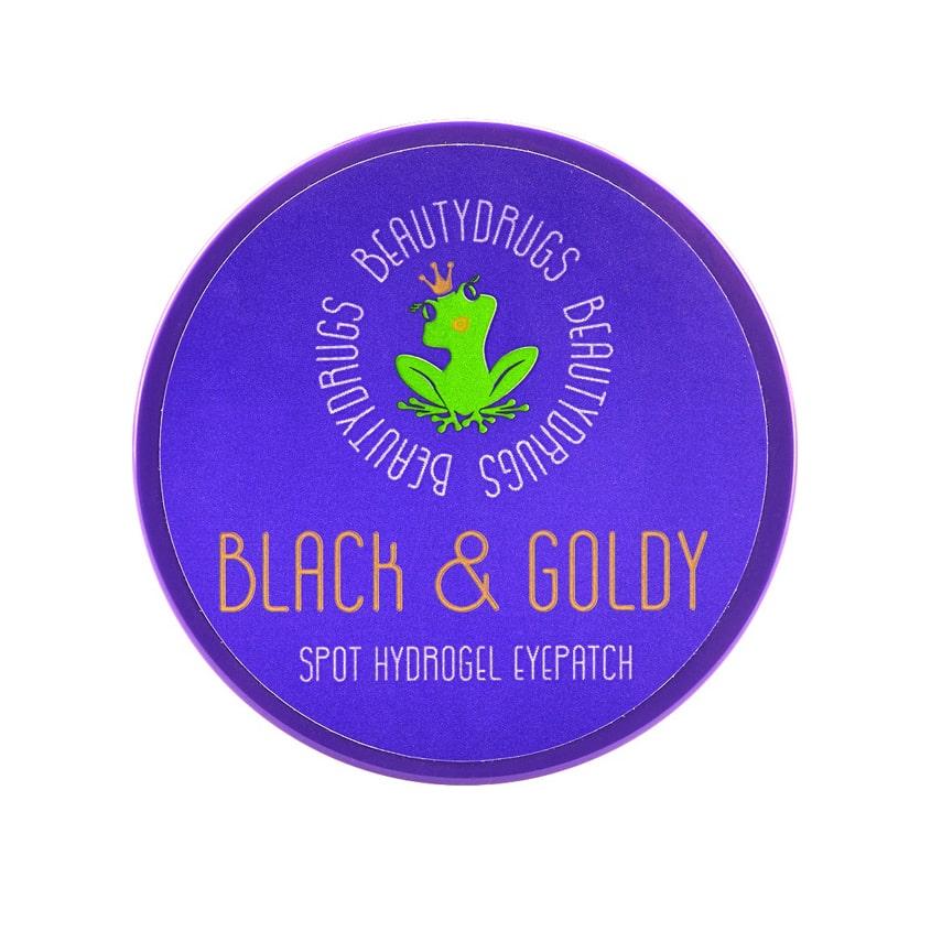 BEAUTYDRUGS Black&Goldy Hydrogel Eyepatch патчи для глаз