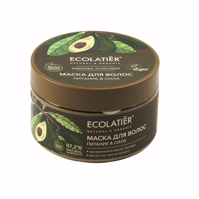 Купить ECOLATIER GREEN Маска для волос Питание & Сила ORGANIC AVOCADO