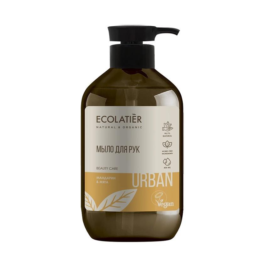 ECOLATIER Жидкое мыло для рук мандарин & мята
